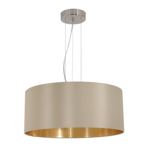 eglo maserlo hanglamp taupe â 53 cm afbeelding 1 hit the
