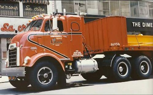 GMC with sleeper Big Rig Trucks, Gm Trucks, Cool Trucks, Trucks For Sale, Antique Trucks, Vintage Trucks, Train Truck, Cab Over, Heavy Truck