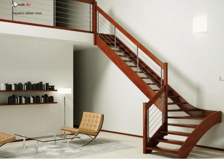 modern fascinating teak wood staircase