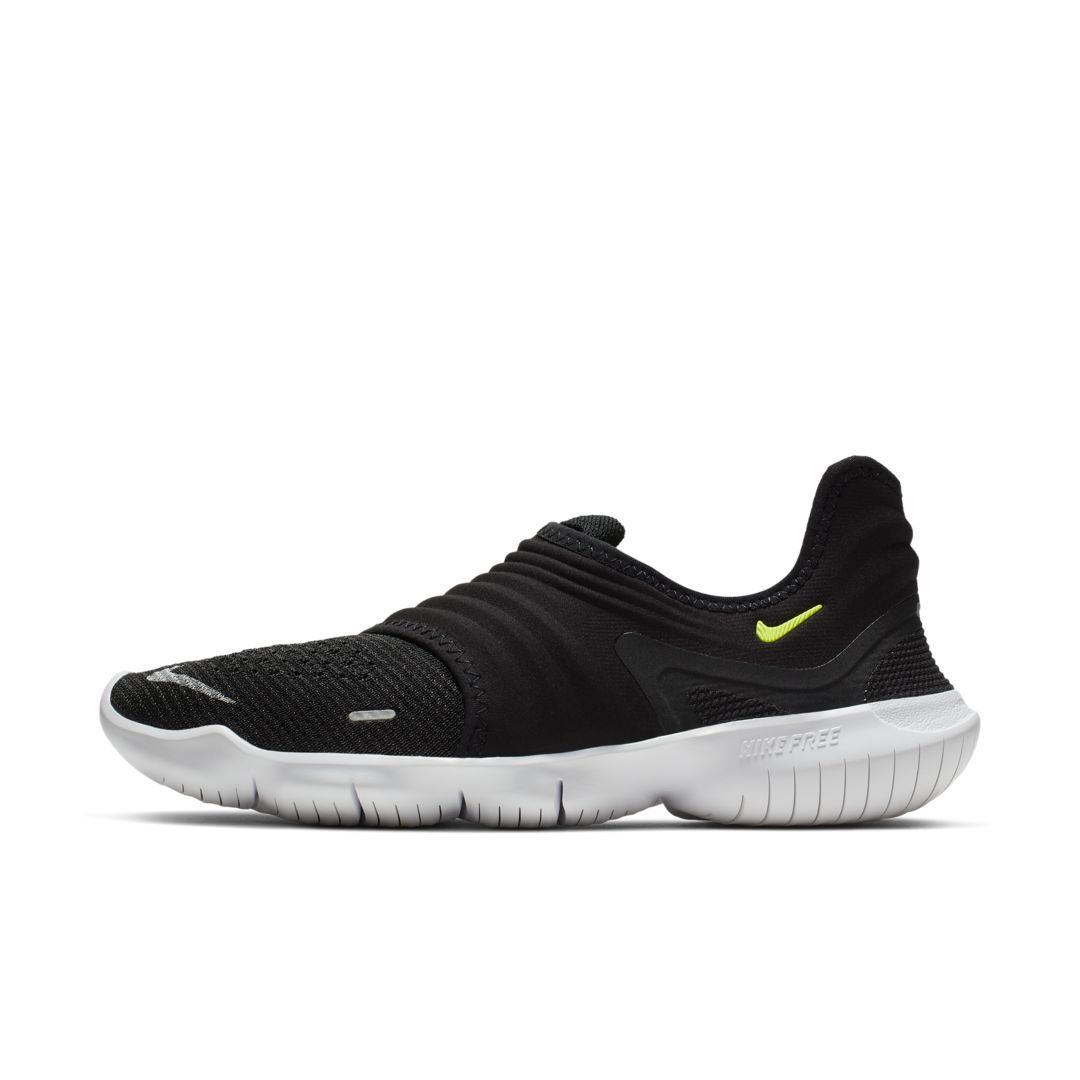 Nike Free Rn Flyknit 3 0 Women S Running Shoe Size 5 5 Black Womens Running Shoes Nike Running Shoes Women Nike Free Rn