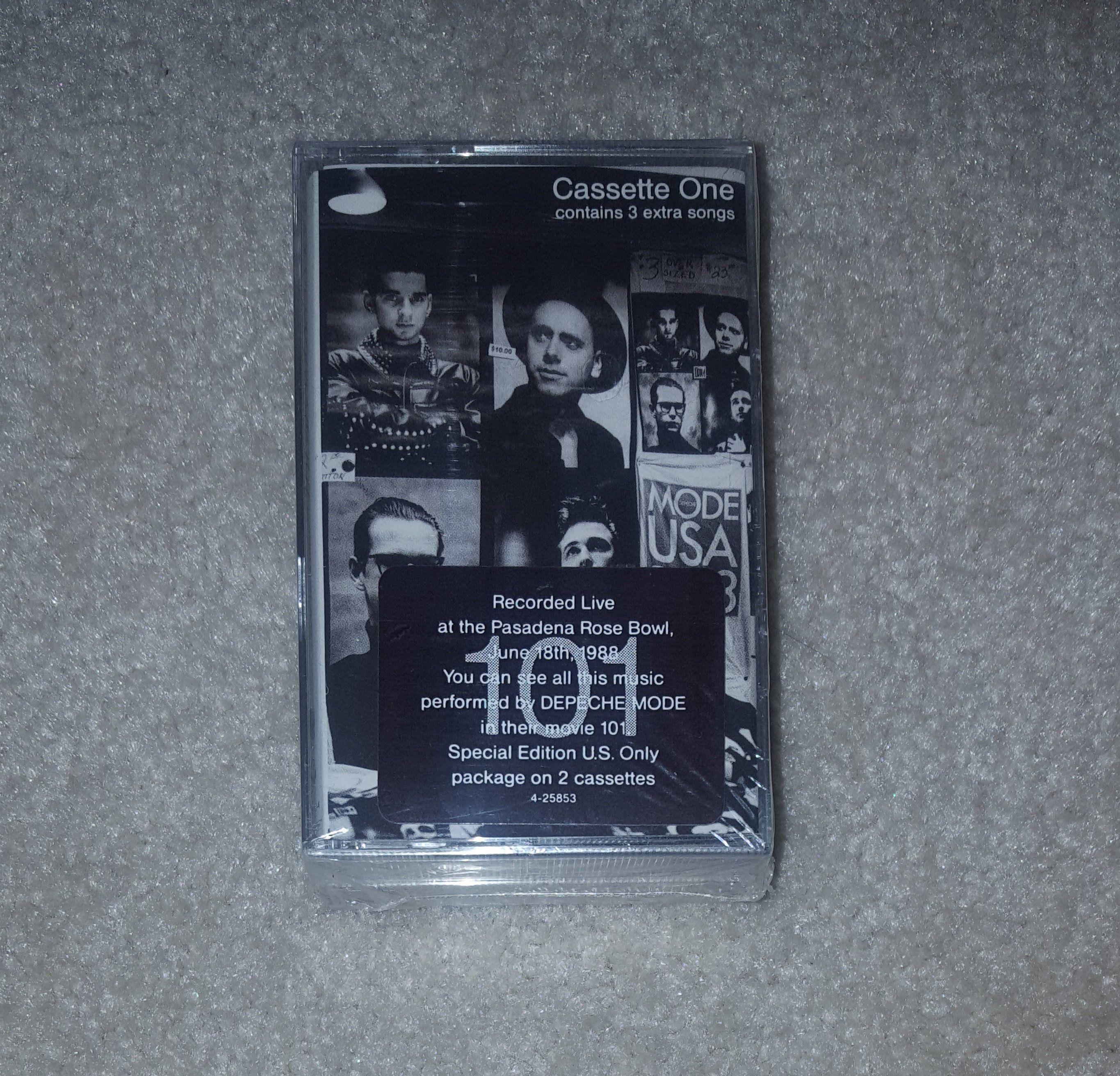 Sealed Depeche Mode Cassette 101 1989 Original Mint Black Celebration Blasphemous Rumours Just Can T Get In 2020 Vinyl Sales Depeche Mode Vintage Vinyl Records