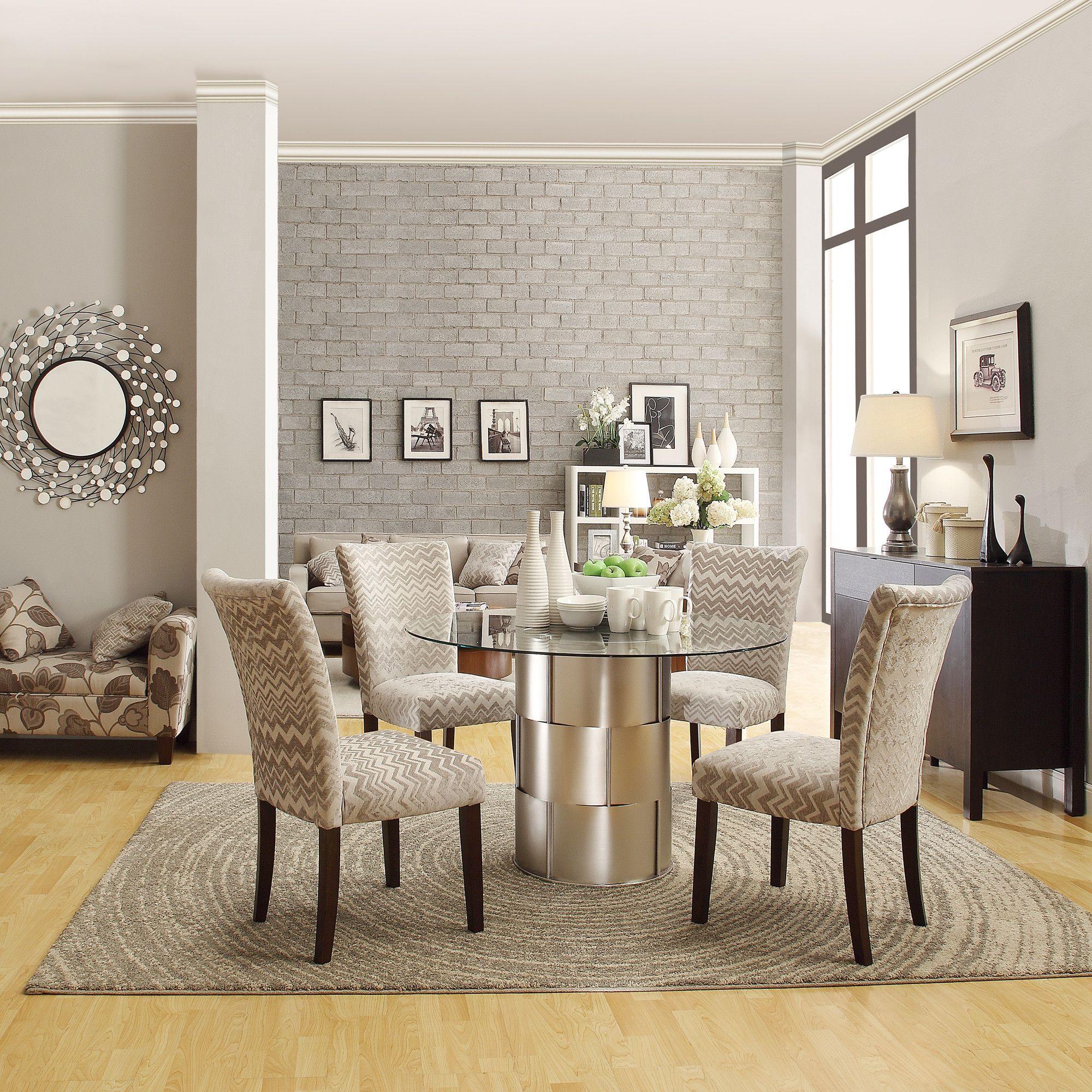 Kingstown Home Emanuella 5 Piece Dining Set & Reviews | Wayfair