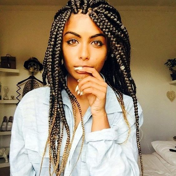 Box Braids Hairstyles Cool Gorgeous African Hair Braiding  Box Braids Hairstyles  Pinterest