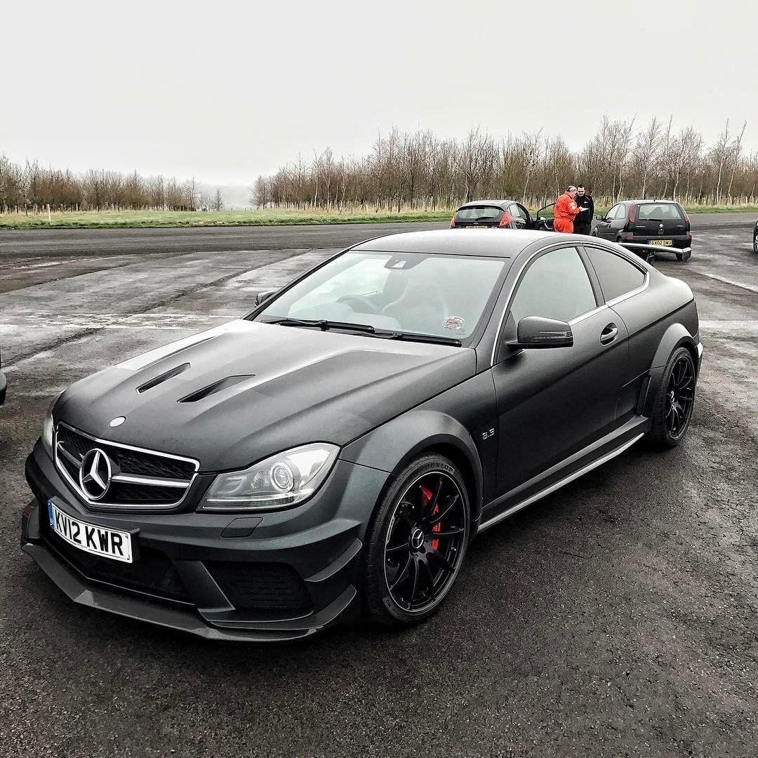 Mercedes-Benz C63 /////AMG Coupé 😈 Follow @amg.vs