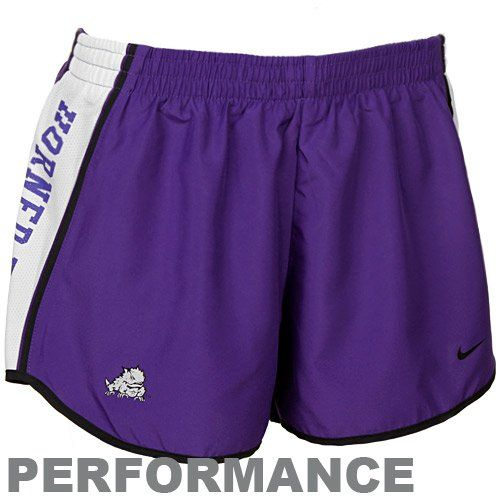 Nike Texas Christian Horned Frogs Ladies Purple Pacer Per