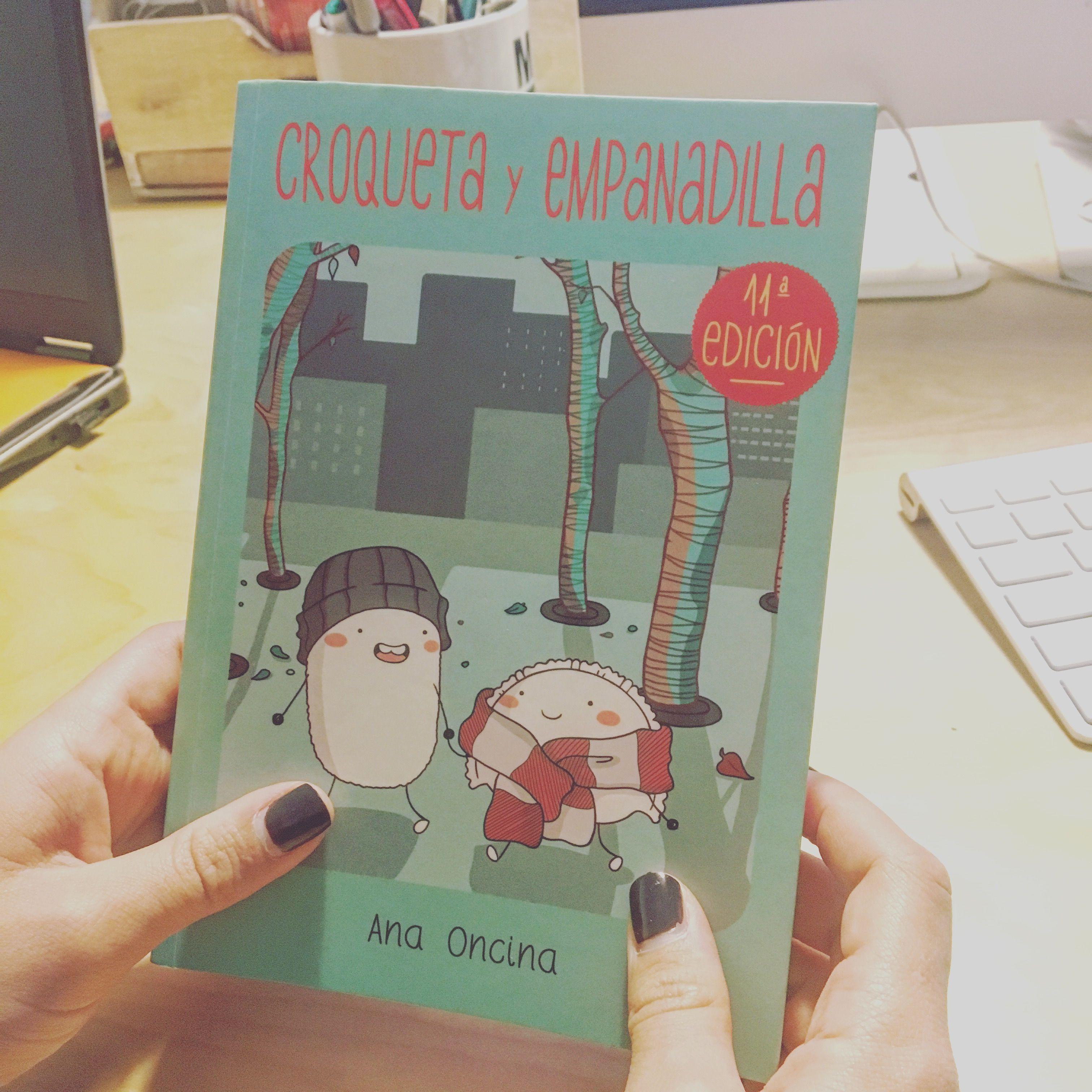 ¡Por fin lo tenemos! #libro #croquetayempanadilla #anaoncina 👍📚@ana_oncina