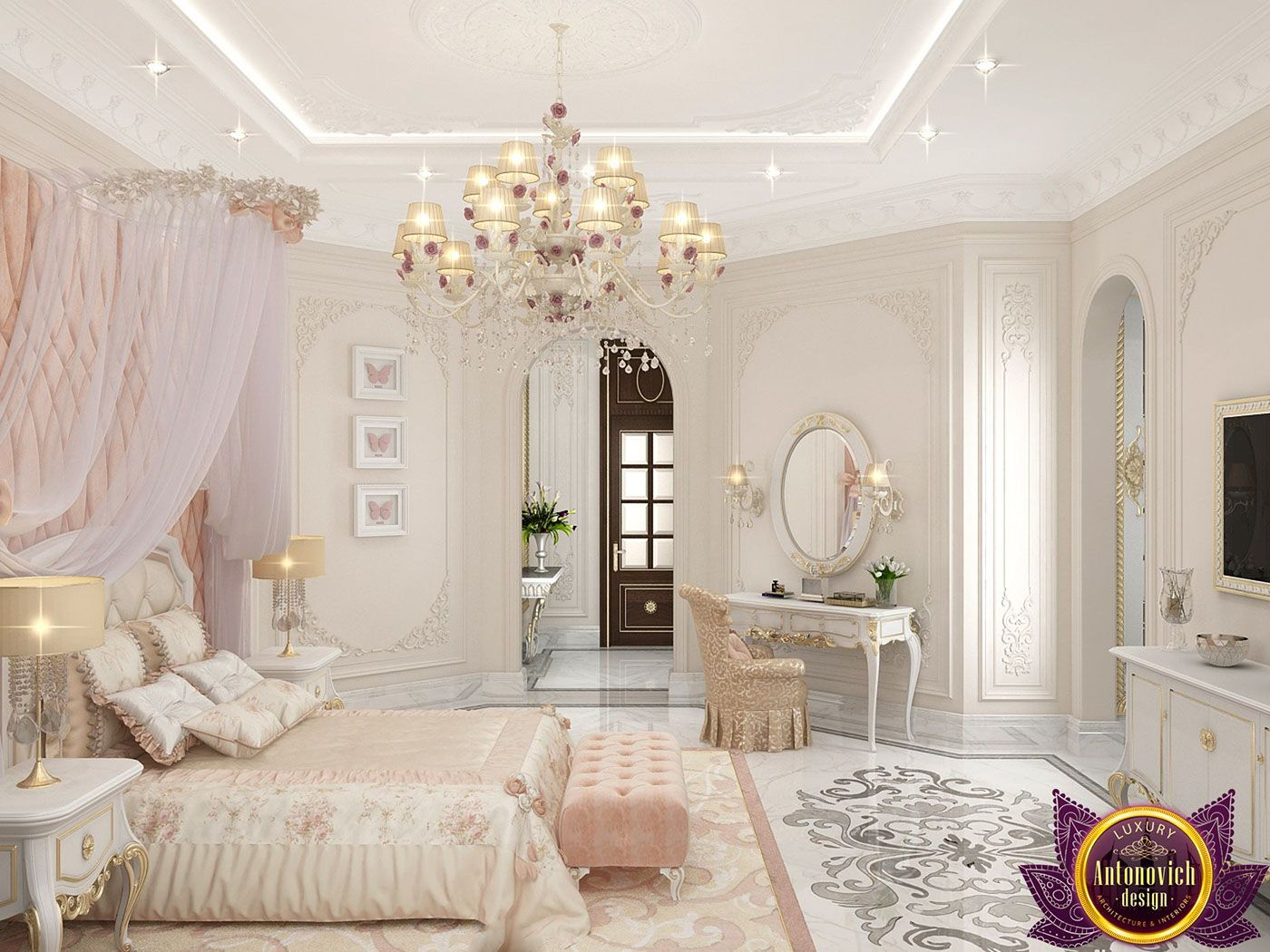 Pin By Virginia Amorim On Screenshots Luxurious Bedrooms Room Design Girls Room Design Luxury teenage girls bedroom