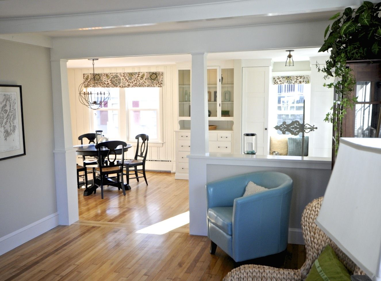 take out load bearing wall in living room | Dining Room and Foyer ...