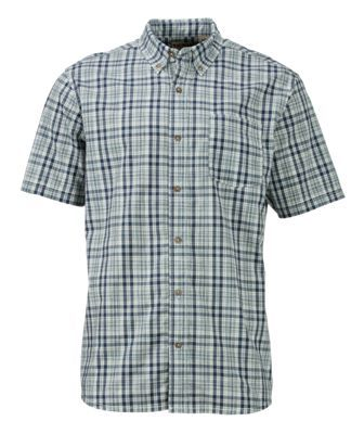 RedHead Space Dye Plaid Shirt for Men - Elixir - XLT