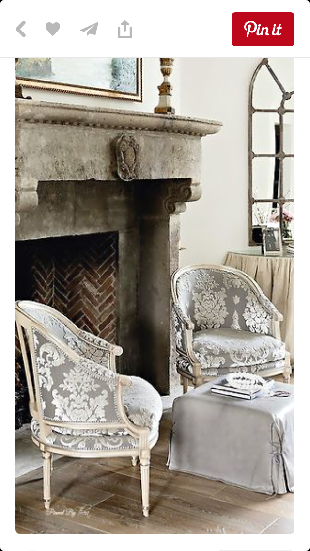 1800s Country Homes: Framing The Fireplace, Furniture Arrangement