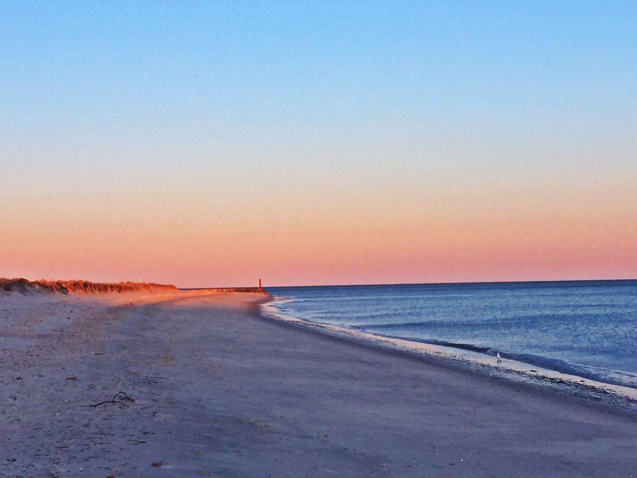 Cape Cod Sunset Scenic Island Getaway Barrier Island