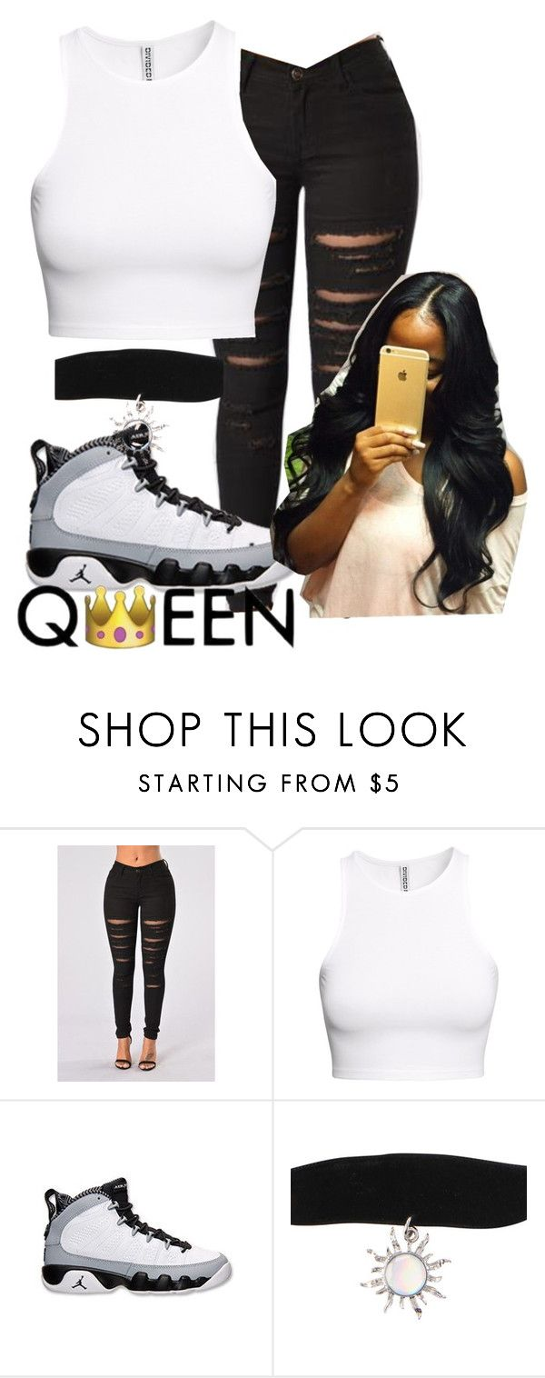 """queen b"" by glogod ❤ liked on Polyvore featuring H&M and Retrò"