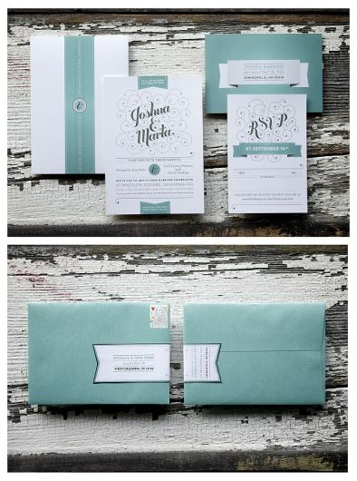 invitations: wrap around labels.