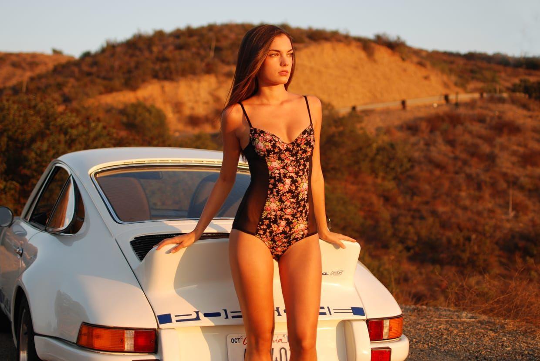 Porsche girls naked, wet nude womens