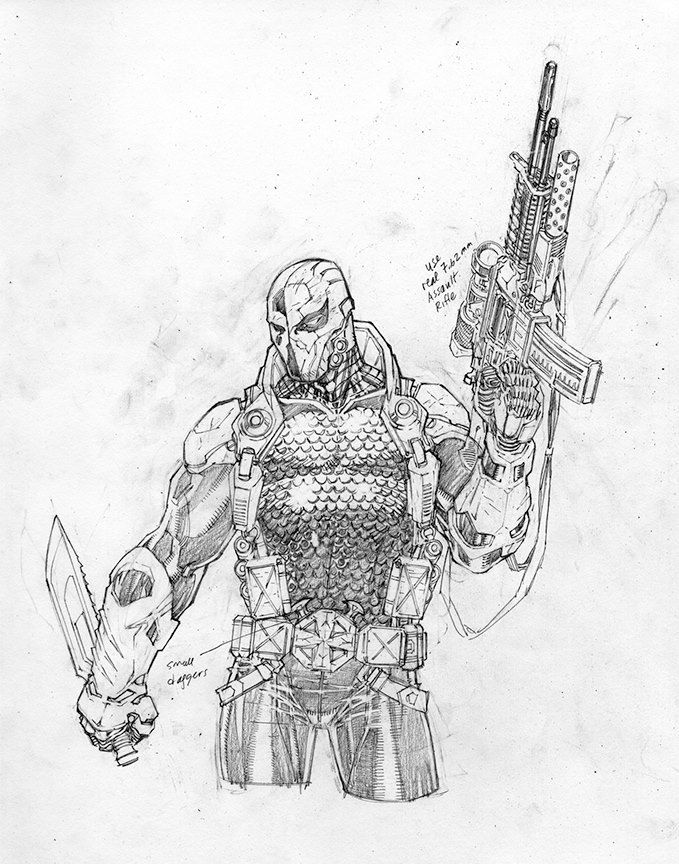 Deathstroke by Jim Lee...