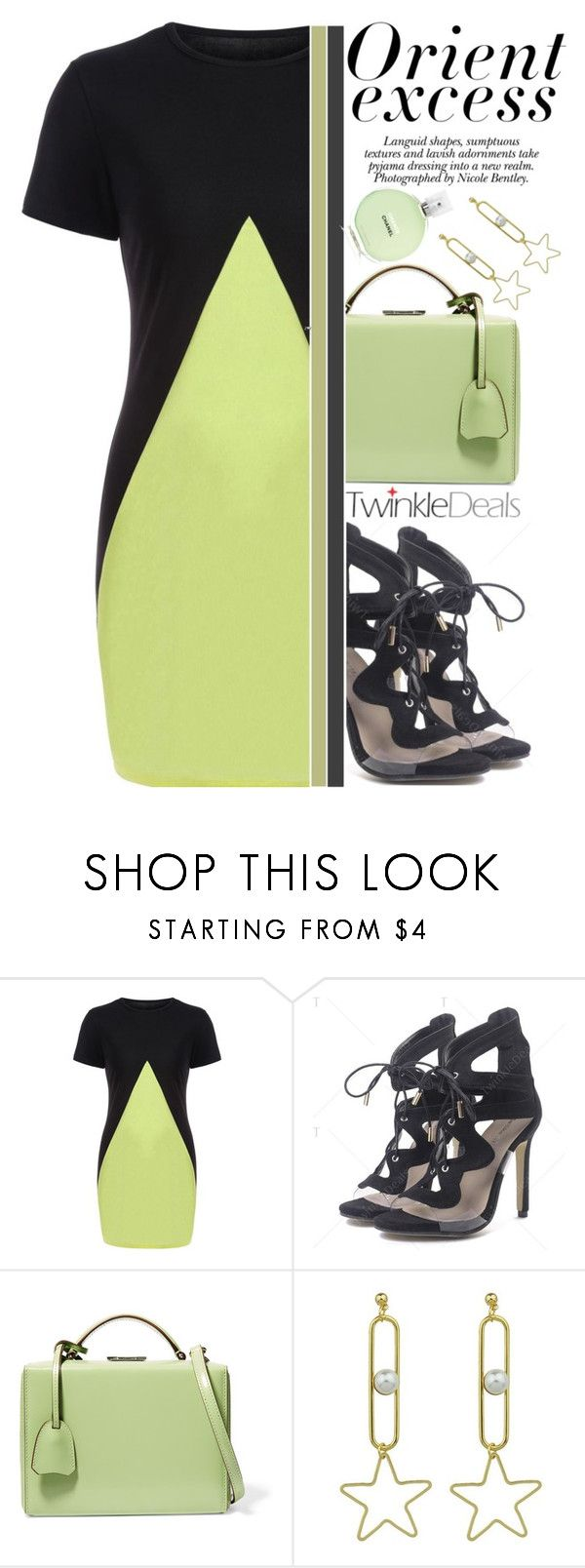 """""""Summer Staple ♥ ♥"""" by av-anul ❤ liked on Polyvore featuring Mark Cross, Nicole, Chanel, patchwork, topset, twinkledeals and avanul"""