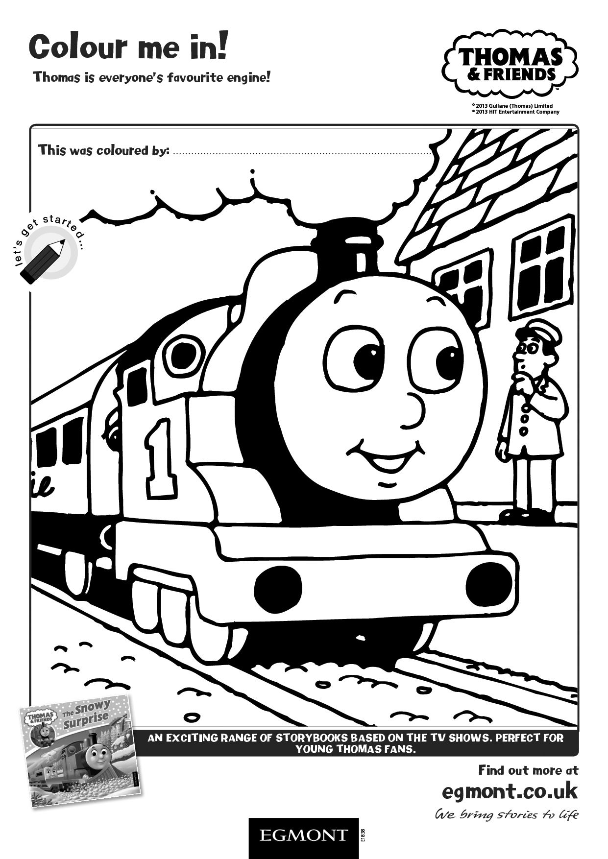 Colour Thomas The Tank Engine In In This Thomas And