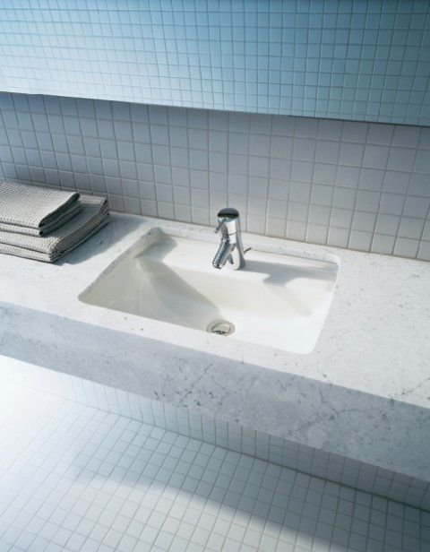 Modern Bathroom Undermount Sinks duravit starck 3 undermount sink | roman bath | duravit undermount