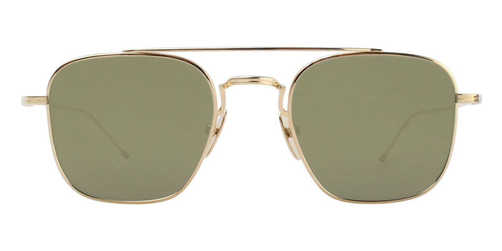 9d55f1fc0dc4 Thom Browne - TBS907-50-01 Gold - Green sunglasses