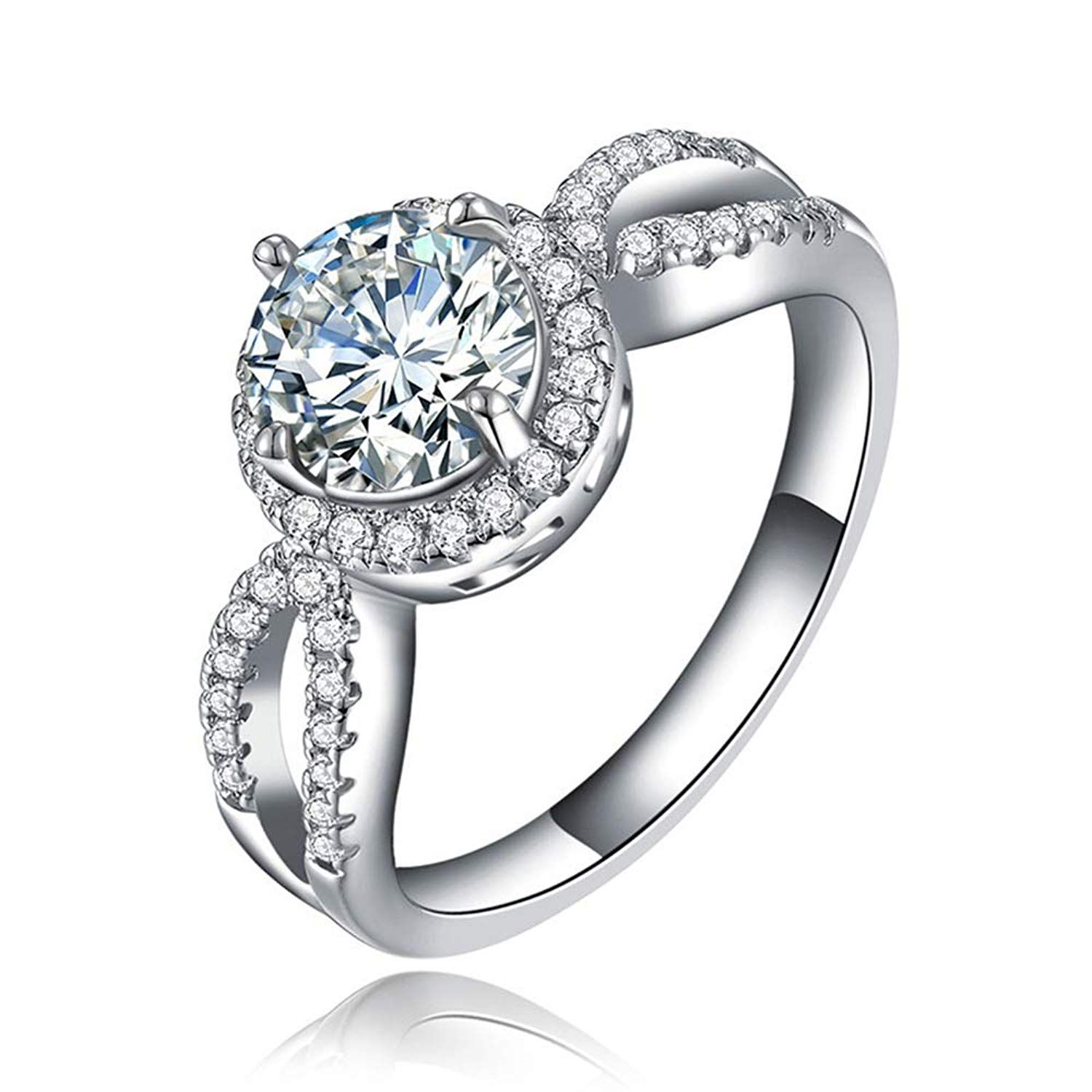 Women's Fashion Ring Silver Ring Best Promise Rings for