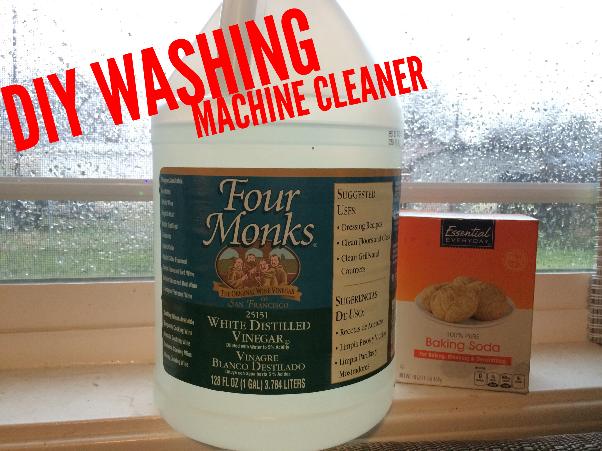 diy washing machine cleaner vinegar and baking soda team up to clean your he washing machine. Black Bedroom Furniture Sets. Home Design Ideas