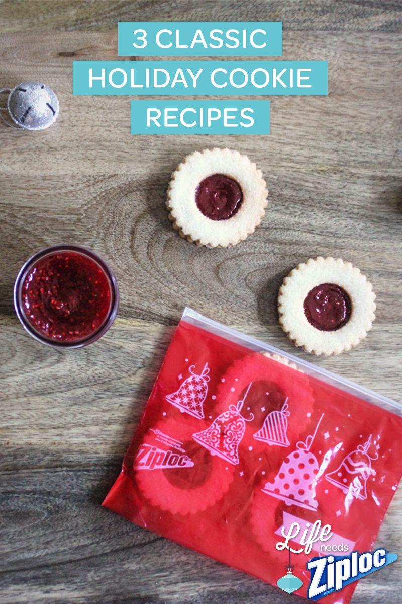 Ziploc® | Three Classic Cookie Recipes | SC Johnson