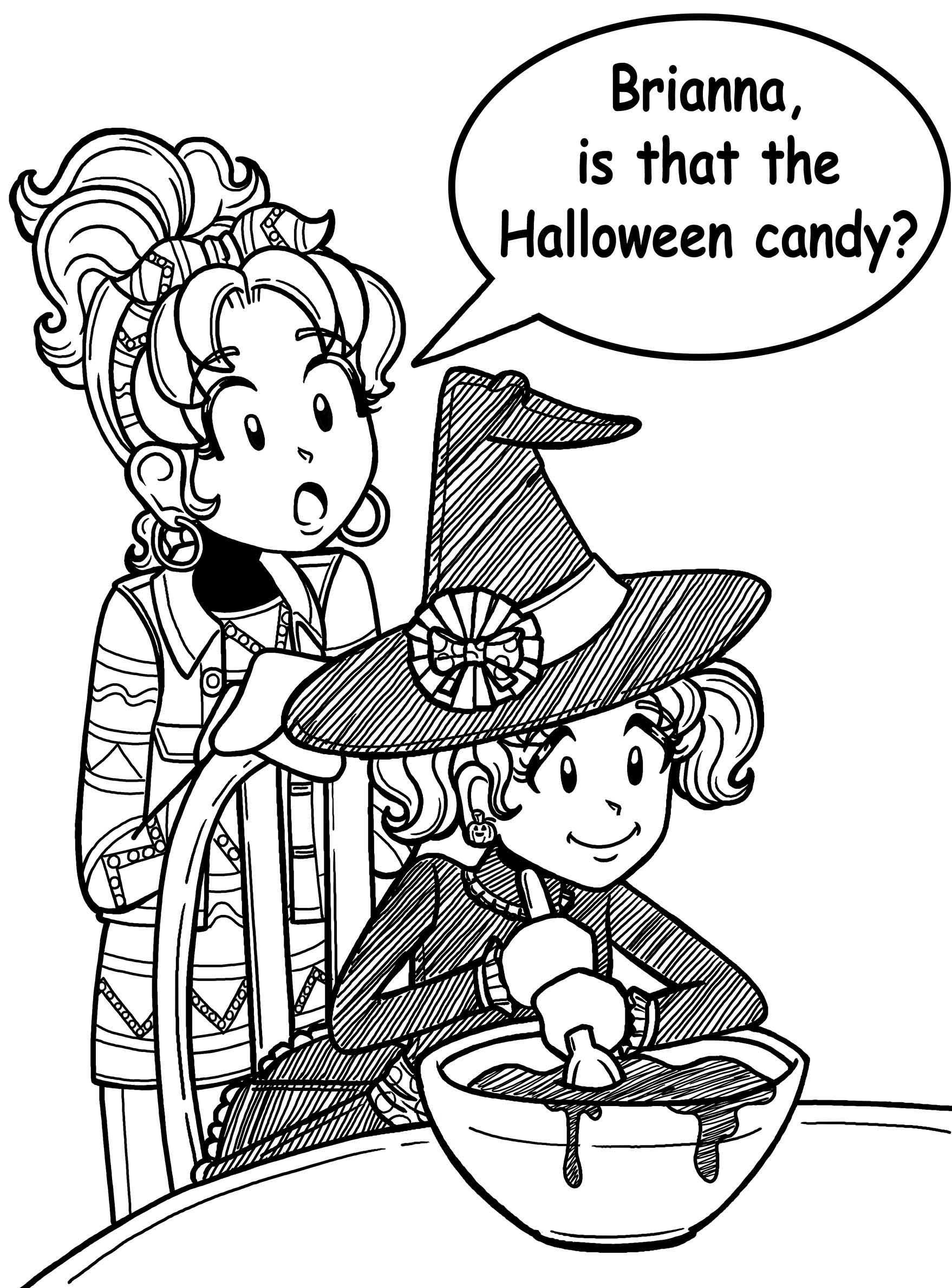 Dork Diaries Halloween