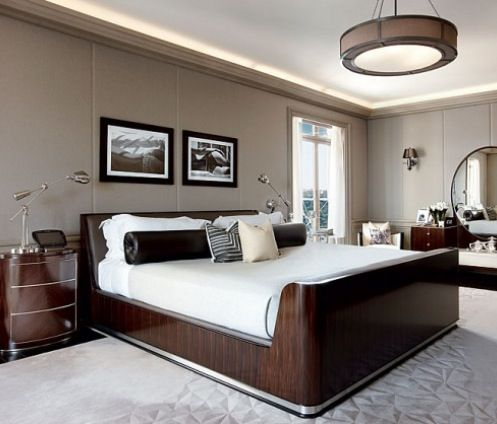 Art Deco Bedroom -Luxury Homes-Houzz.com #Luxury Bedrooms ...