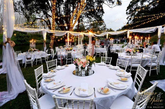 A Fairy Light Wonderland Garden Wedding