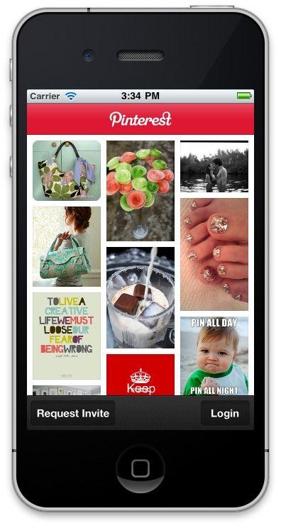 Pinterest llega a los Android y mejora su app en iPhone.