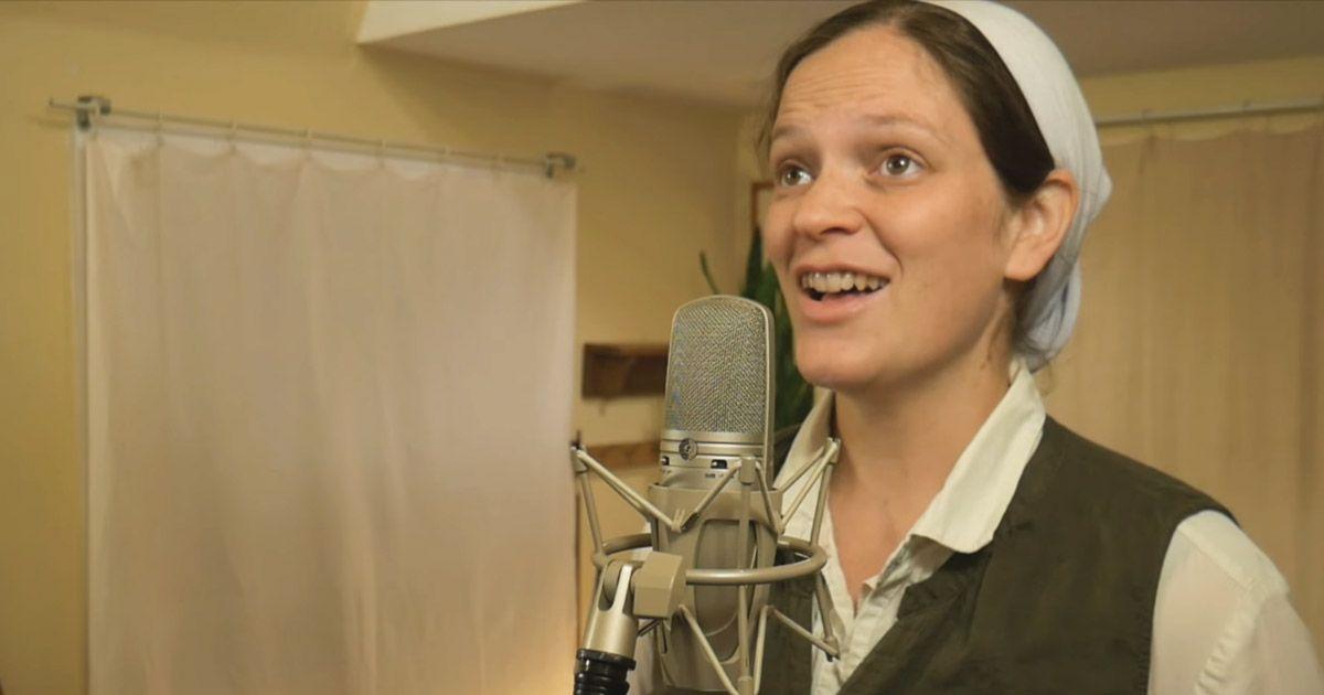 Beautiful christian song female