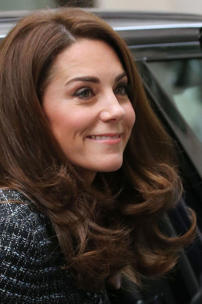 Britains Catherine Duchess of Cambridge arrives to attend The