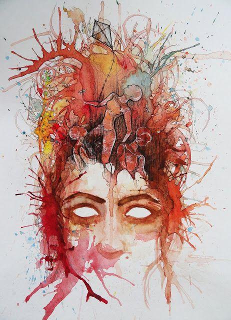 mckenna woolley: Watercolor Artist Ashba Zulfiqar | Inspire Me Monday
