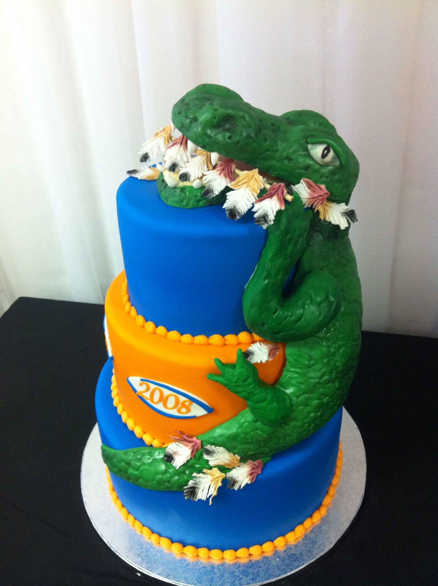 Excellent Uf Gators Vs Florida State Seminoles 2013 With Images Cake Personalised Birthday Cards Veneteletsinfo
