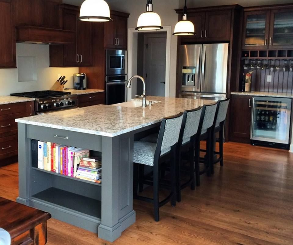 Wood Mode Cabinetry In This Kitchen: Wood-Mode Kitchen With A Gorgeous Kitchen Island Http