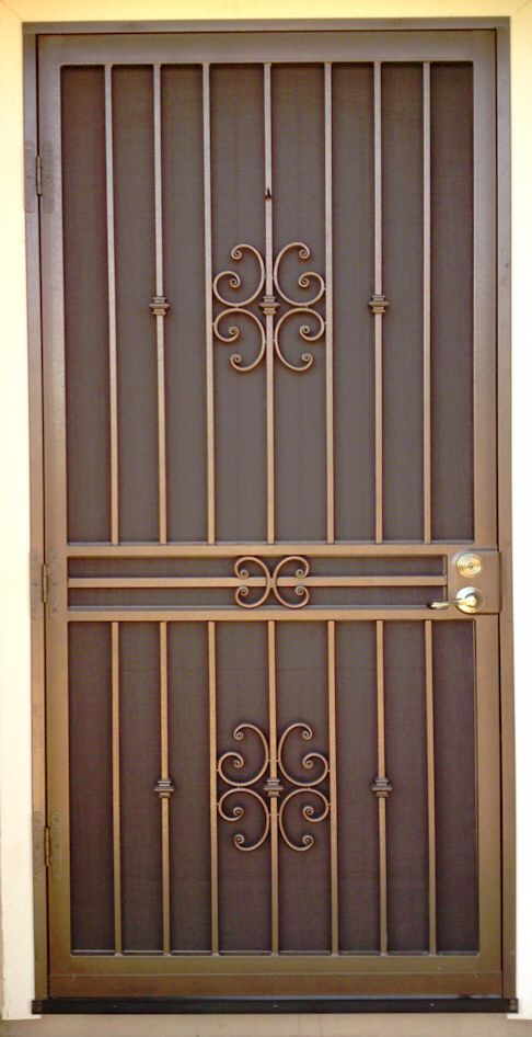 Custom Security Doors Phoenix Door Gate Design Security Screen Door