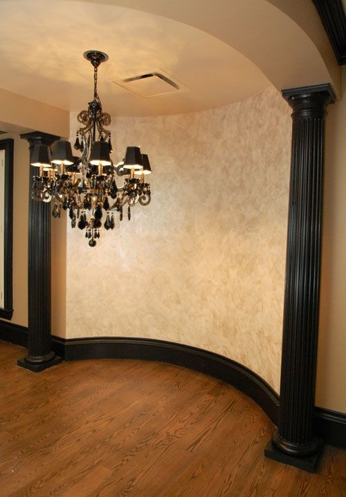 Venetian Plaster With Pearl Overlay By Garay Artisans