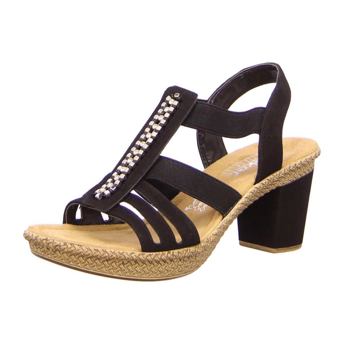 NEU: Rieker Sandaletten 66584 00 schwarz | Schuhe