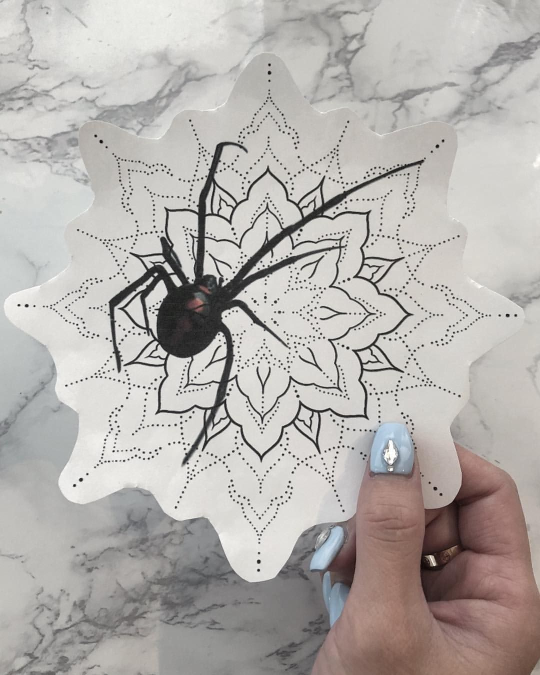 Chronic Ink Tattoo Vancouver Louise Blackwork Tattoo Spider Mandala In 2020 Web Tattoo Spider Web Tattoo Spider Tattoo