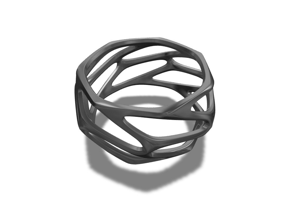 Parametric Ring A 3d Model Created With Vectary The Free Online 3d Modeling Tool