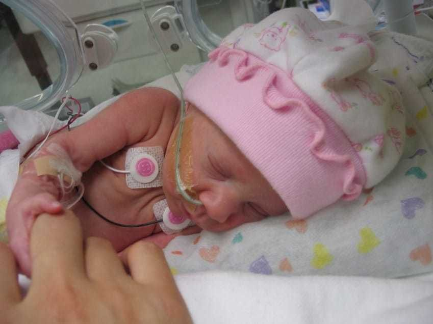 Sweet Preemie Is Scared, Then NICU Nurse Hands Her A Tiny Crocheted ...