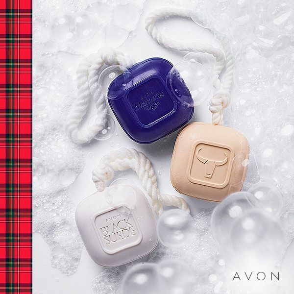 Three of the most popular men's fragrances are now available in Soap-On-A-Rope!