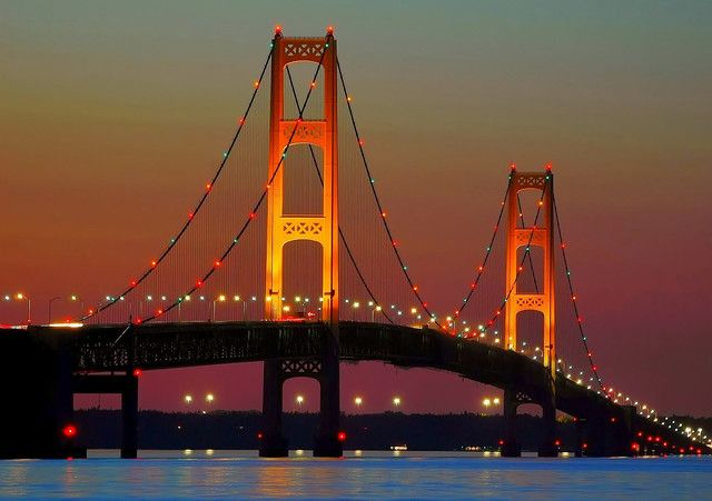 Beautiful Mackinaw Bridge Been There Many Times Mackinaw Bridge Mackinac Bridge Mackinaw