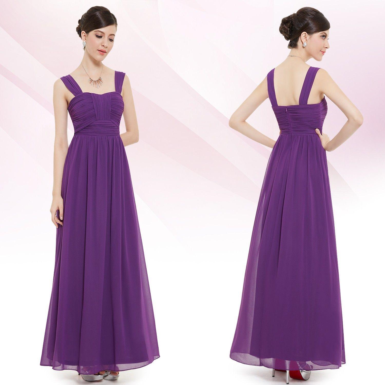 Lila Abi Abendkleid  Abendkleid flieder, Abendkleid, Langes lila