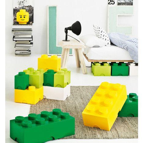 Stackable 8 blocks Brick