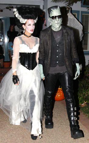 Kate Beckinsale & Len Wiseman from Best Celebrity Halloween ...