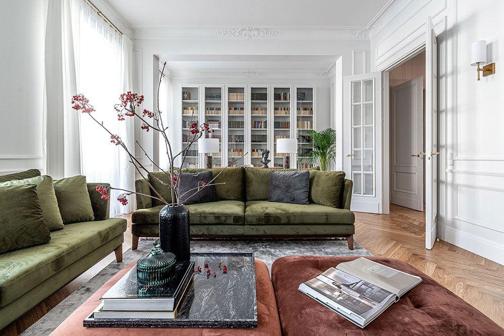 Photo of 〚 Bright modern apartment with classic details in Vilnius 〛 ◾ Photos ◾ Ideas ◾ Design