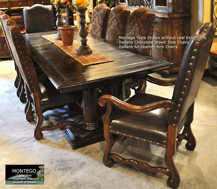 Dining Chairs Old World All Leather Dining Chairs Rustic Dining