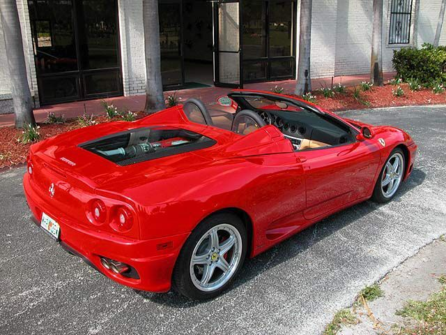 2004 Ferrari 360 2 Dr Spider Convertible With Images Ferrari