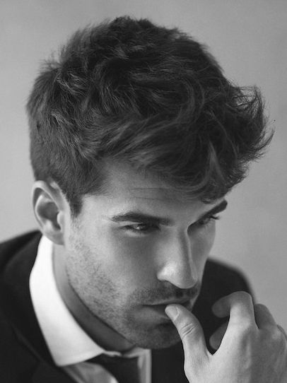 Medium Thick Modern Hairstyles For Men | Barber Shop | Pinterest ...
